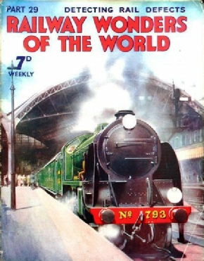 Railway Wonders of the World - King Arthur class locomotive leaving Victoria Station