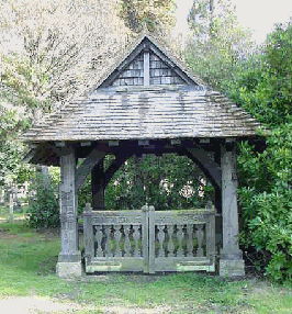 St Alban's lychgate, Brookwood Cemetery